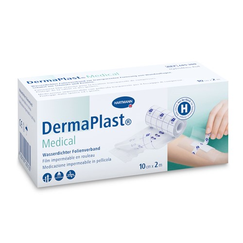 Image de DermaPlast Medical Film de fixation des pansements 10cm×2m