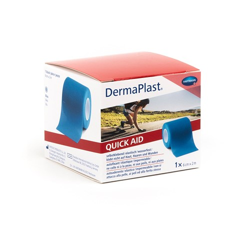 Image de DermaPlast Medical QuickAid bleu 6cm×2m, 1 pièce