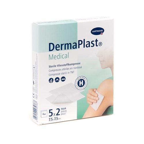 Image de DermaPlast Medical Compresses stériles en non-tissé 5x2 pièces