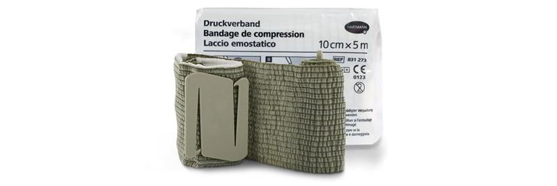 Le nouveau bandage de compression: Le bandage individuel pour le domaine civil