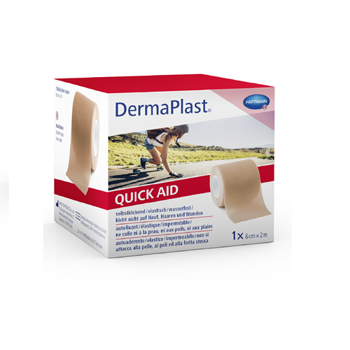 Image de DermaPlast Medical QuickAid couleur chair 6cmx2m
