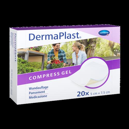 Image de DermaPlast® Compress Gel 5 x 7.5 cm 20 Pièces
